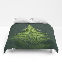 Fern Leaf Green Comforters