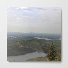 Early Morning Fog Lifting in Acadia National Park Metal Print