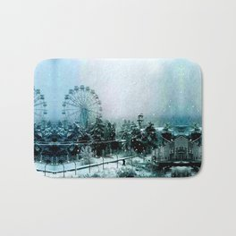 Cold Forest Playground Bath Mat