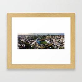 La Bombonera Home of the BOCA Juniors Framed Art Print