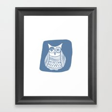 Hoot 1 Framed Art Print