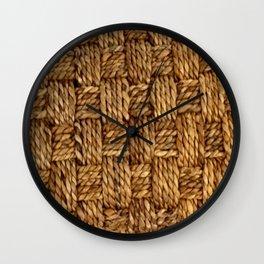 HEMP PATTERN Wall Clock