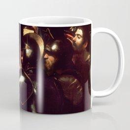 The Taking of Christ by Caravaggio (1602) Coffee Mug