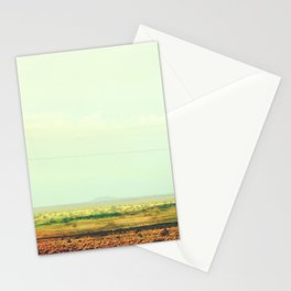 Astract Modern Desert Photograhy Stationery Cards