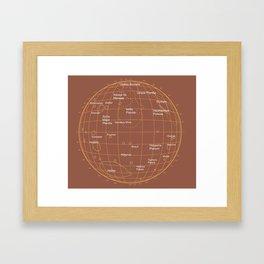 Mars 2 Framed Art Print