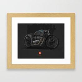 Triumph Bobber Framed Art Print