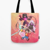 steven universe Tote Bags featuring Steven Universe by kichisu