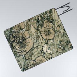 Garnet Crystals Picnic Blanket