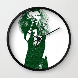 Fashion Lara Stone Calvin Klein Wall Clock