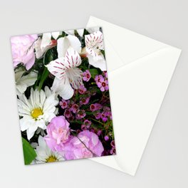 Birthday Flowers 2 Stationery Cards