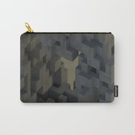 Abstract Concrete III Carry-All Pouch