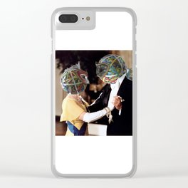Rubberband Ball Clear iPhone Case