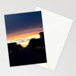 Burn The Automobiles! Stationery Cards