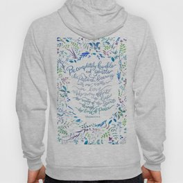 Be Humble & Gentle - Ephesians 4:2-3 Hoody