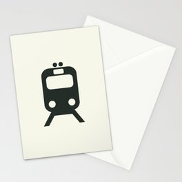 Train Stationery Cards