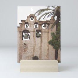 San Gabriel Mission Bells Mini Art Print