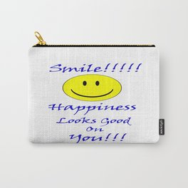 Smile looks good on you Carry-All Pouch
