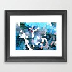 Pattern 7 - Flyin' Blues Framed Art Print