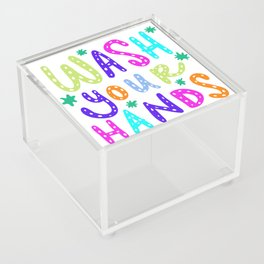 Wash Your Hands Design by Jelene Acrylic Box