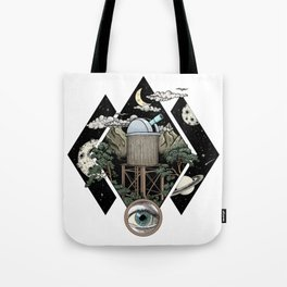 Through the looking glass and what i found there Tote Bag