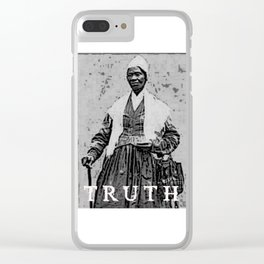 Sojourner Truth 1 Clear iPhone Case