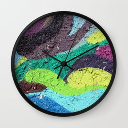 Color Entropy I Wall Clock