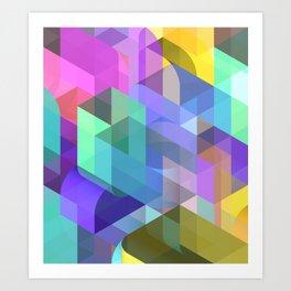 Boron Nitride Art Print