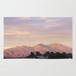 Sunset over Saddleback Mountain Rug