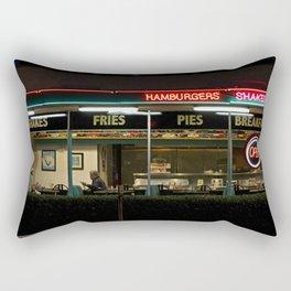 George's 50s Diner Rectangular Pillow