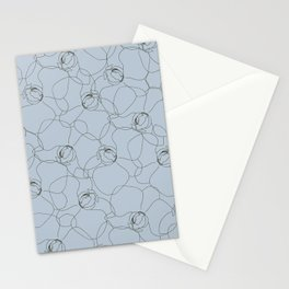 Gala at the Plaza - Blue Poppy Stationery Cards