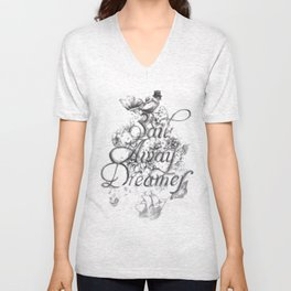 Sail Away Dreamer Unisex V-Neck