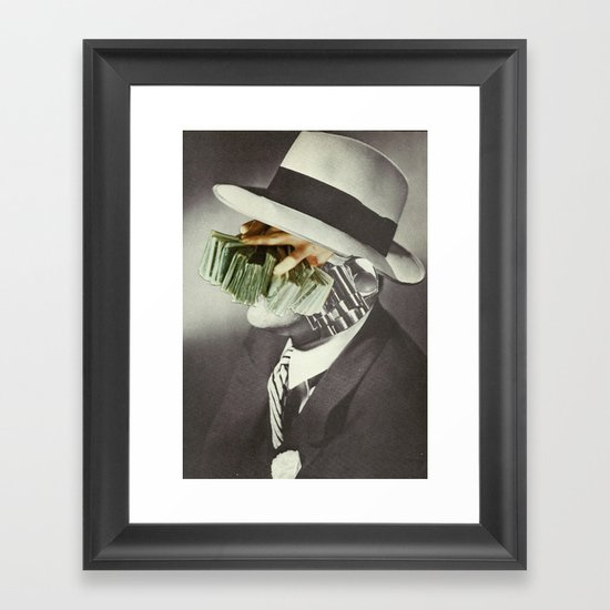 Valachi Papers Framed Art Print