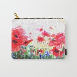 Poppy Haze Carry-All Pouch