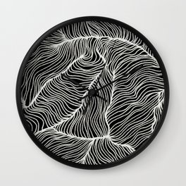 Inverted Infinity Wall Clock