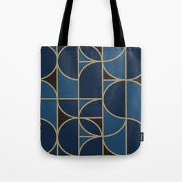 Morning Dance In Blue Big Scale Tote Bag