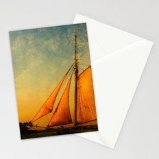 The America in Key West is Leaving for Sunset Stationery Cards