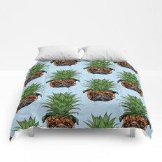 Pineapple Pug Comforters
