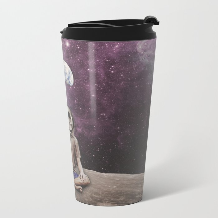 PSYCHONAUT UNIVERSE MEDITATION Metal Travel Mug