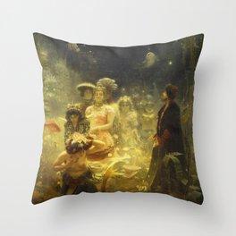 Ilya Repin - Sadko Throw Pillow
