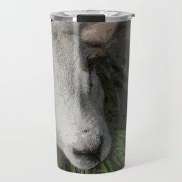 Feeding Sheep #Animal #Farm #Eating #Nomnomnom Travel Mug