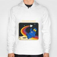 spaceman Hoodies featuring Spaceman by Yoel