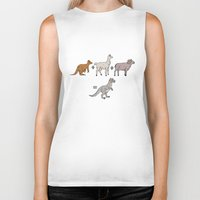 math Biker Tanks featuring Tauntaun Math by Otter Illustration