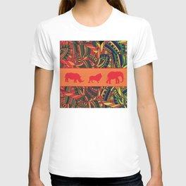 African Tribal Pattern No. 16 T-shirt