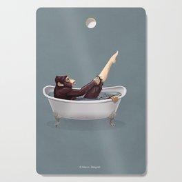 Bathtub Cutting Board