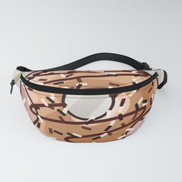 Toffee and Chocolate Donut Fanny Pack