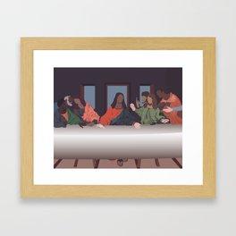 Jesus Black Life Didn't Matter. Framed Art Print