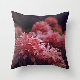 Pink Bellingrath Floral Throw Pillow