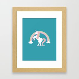 It's magic! Unicorn Framed Art Print