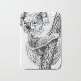 Inktober #7 2017 - Koala Bath Mat
