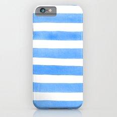 Blue stripes Slim Case iPhone 6s